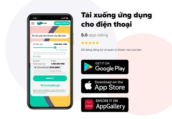 Tải app Oncredit trên Android, IOS